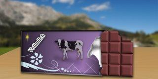 Schokolade-verpackung